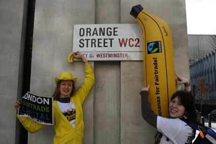 Orange Street? Banana Street more like it