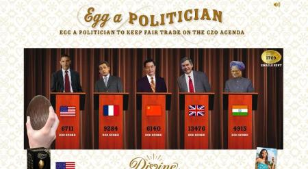 Make your voice heard - egg a polititian