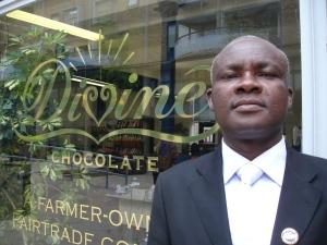 MD of Kuapa Kokoo ltd Kwasi Aduse-Poku in London this month