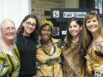 Comfort Kumeah meets St Austin parishioners