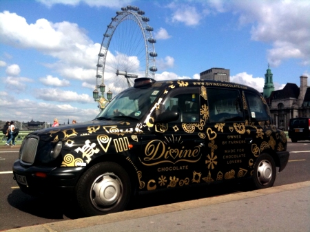 Now driving around London can be Divine
