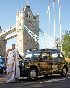 Mr Buah at Tower Bridge