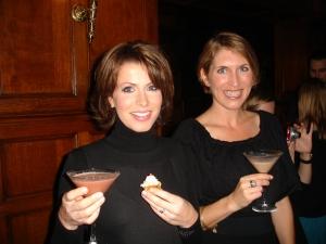 Natasha Kaplinsky & Joanna Yarrow with Divine Martinis
