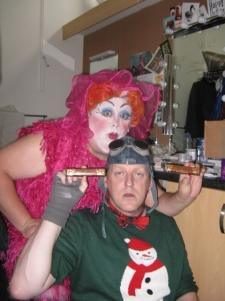 Jack's mum Wendy Windsor and her admirer Plug