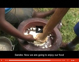 Ghanaian children describe what they eat and how its cooked