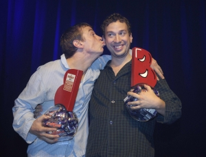Pajama Men win the Dubble Act Award 2005