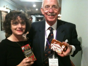 Sophi meets one of her brand heros - Boyd Tunnock