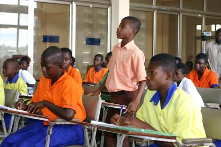 Taking part in a Kuapa Kokoo kids camp