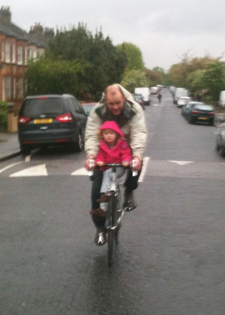 Tony and Isla test driving the Condor